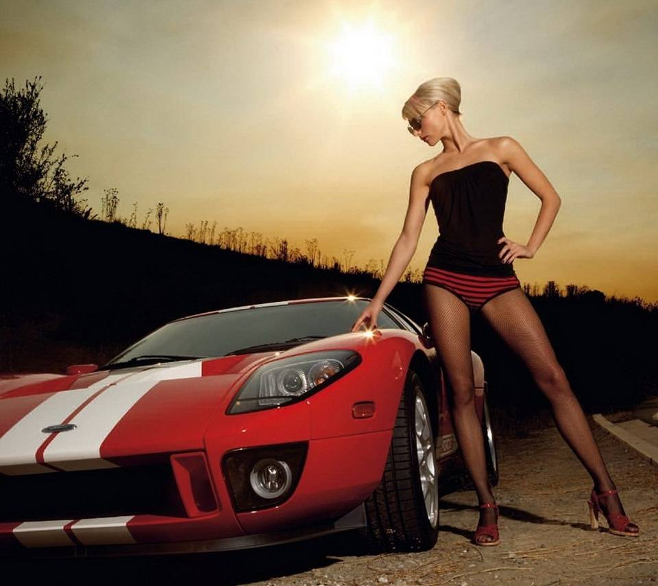 Hot Girl And Car Wallpaper By Pamarys 2b Free On Zedge