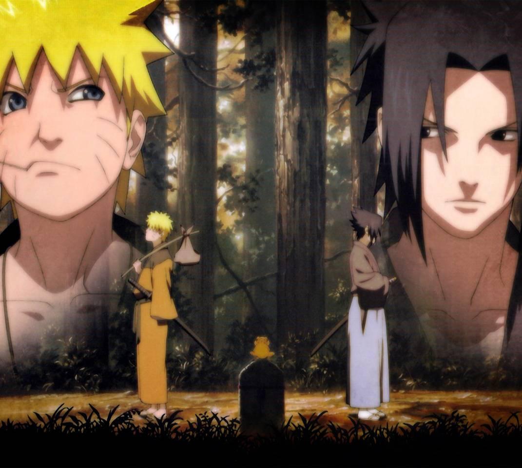 Naruto And Sasuke Wallpaper By Cynicpsycho D9 Free On Zedge