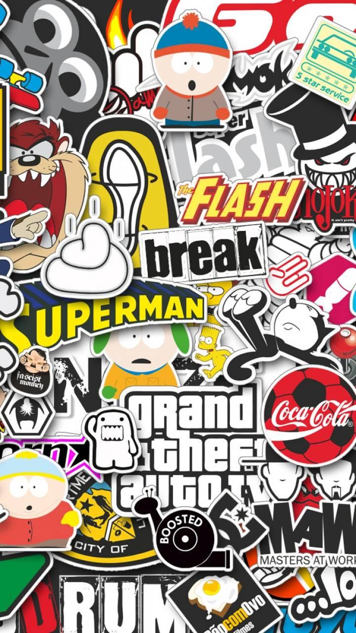 stickers-wallpaper