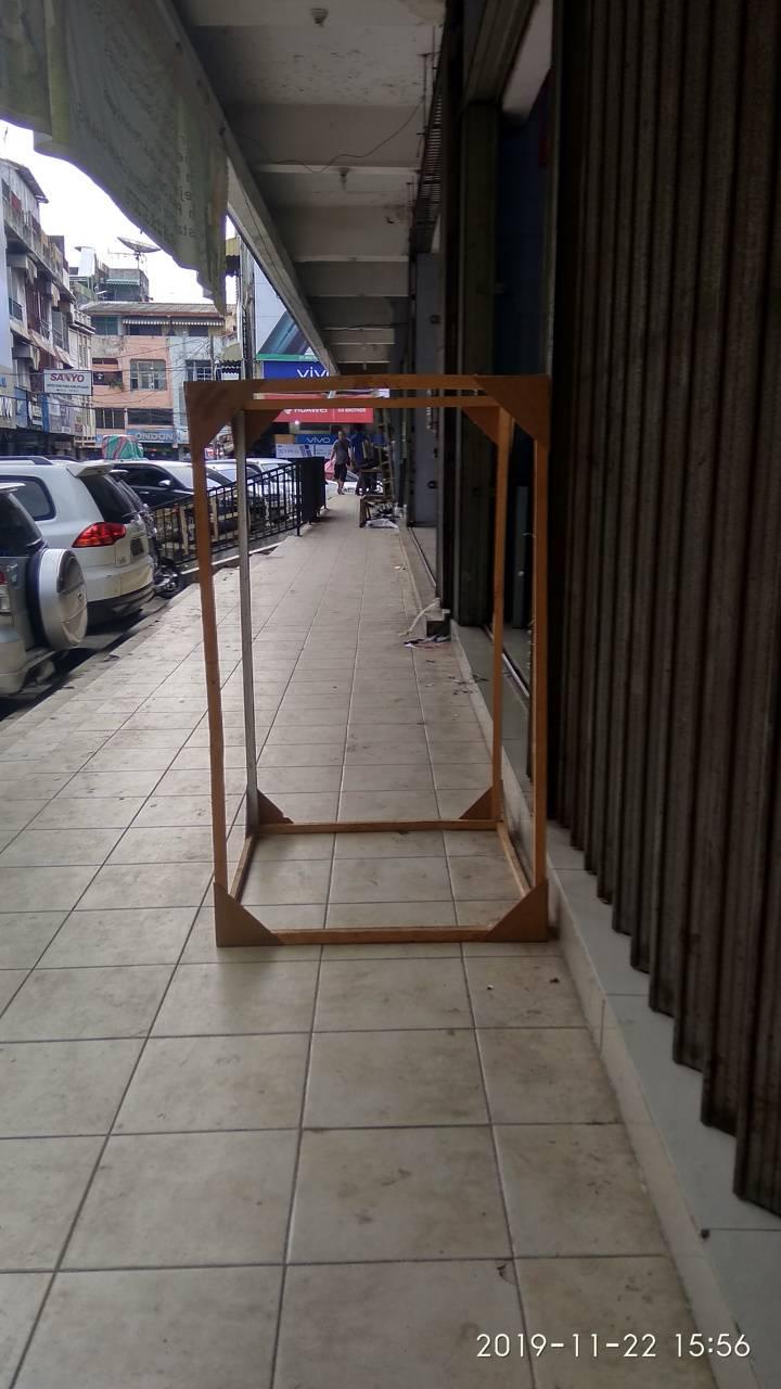 Square Box Wooden