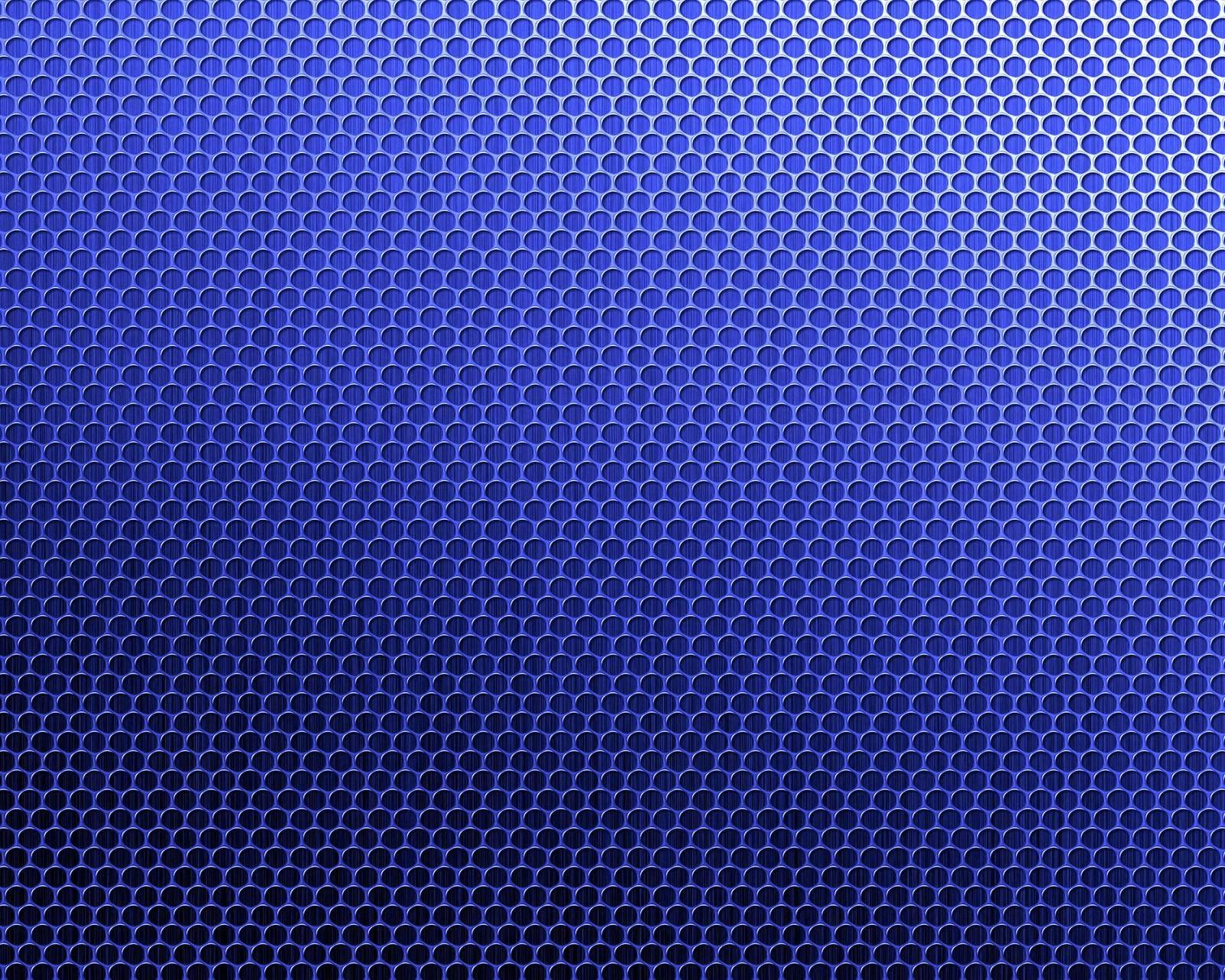 Blue Mesh Pattern