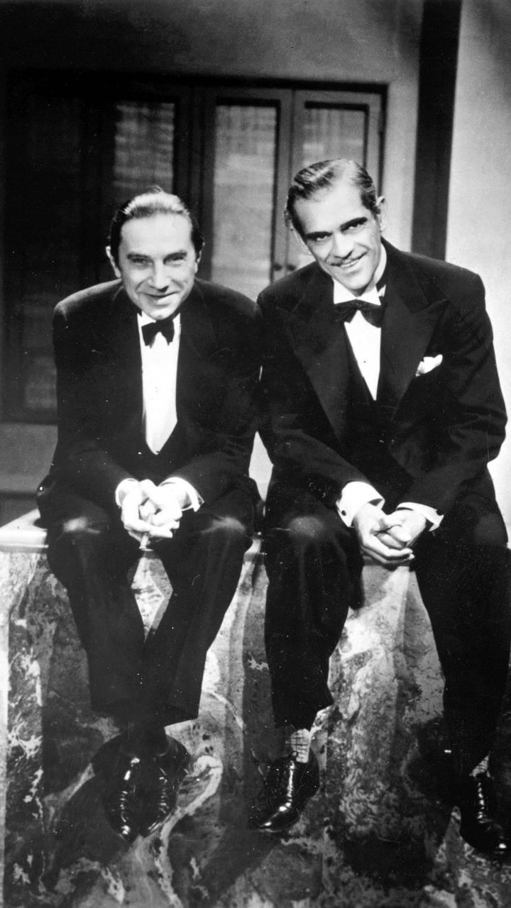 Lugosi And Karloff