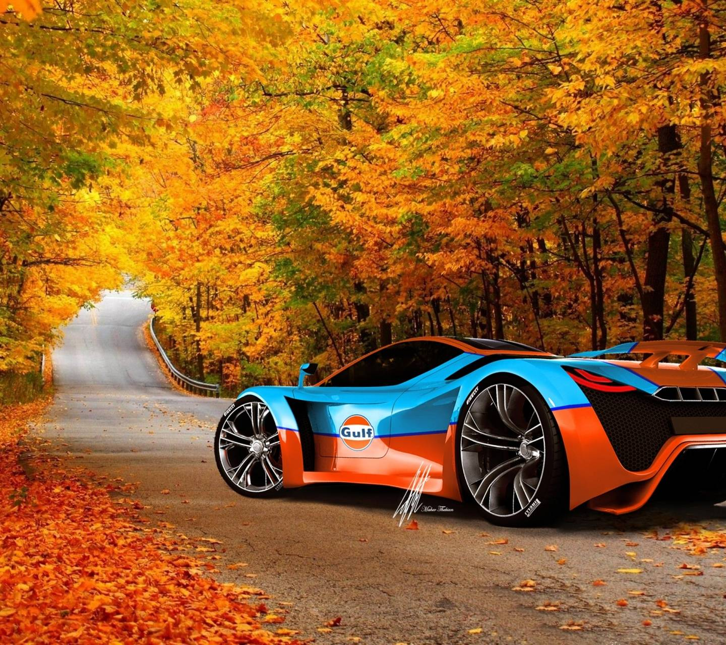 CAR IN NATURAL HD Wallpaper By PSJ_10
