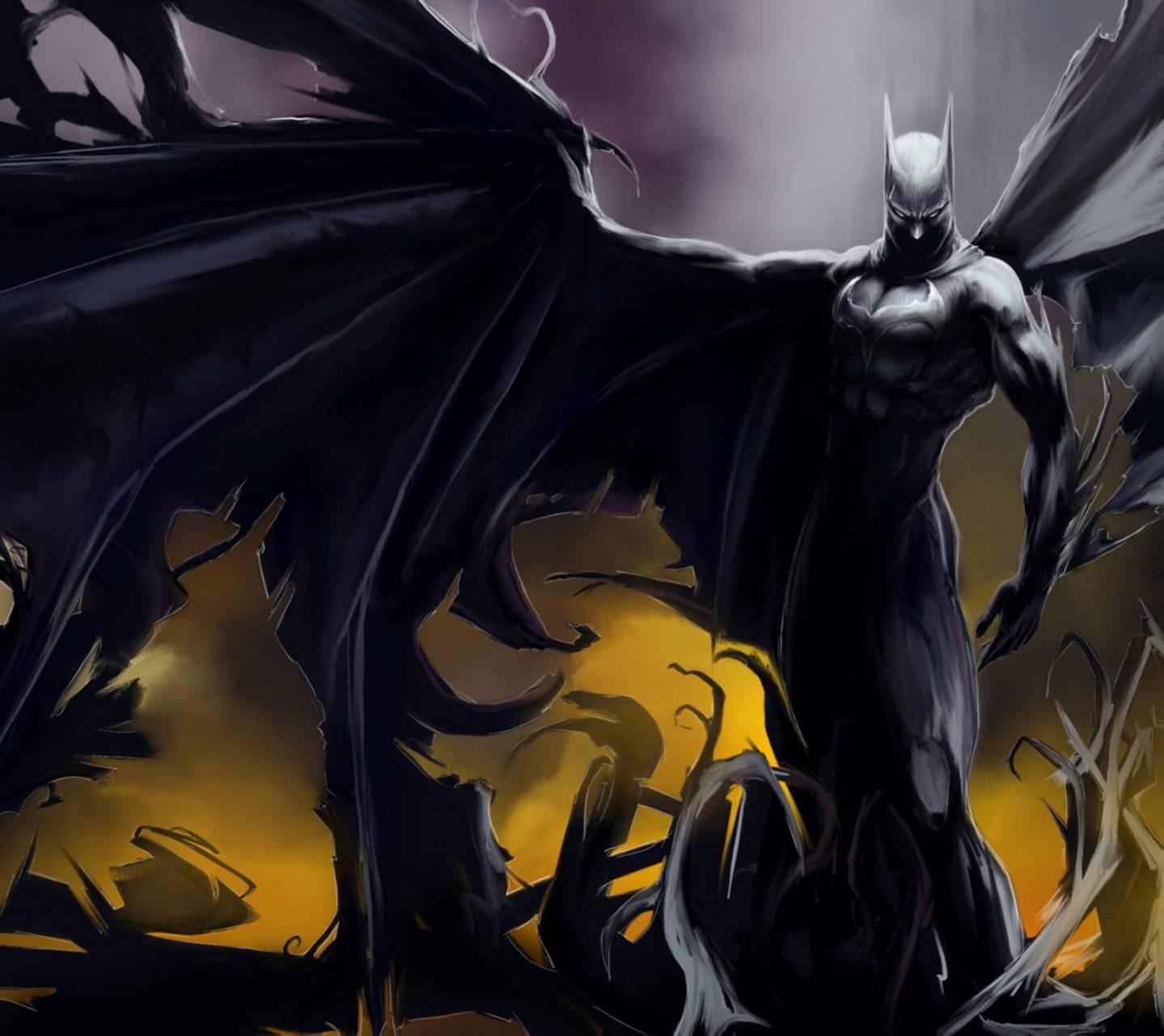 Dark Knight paint
