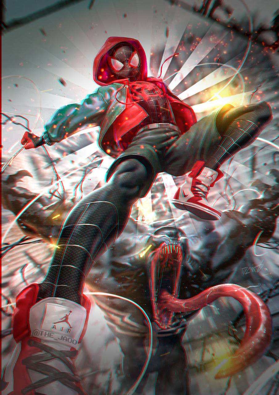 Miles Morales Wallpaper By The Jao F3 Free On Zedge