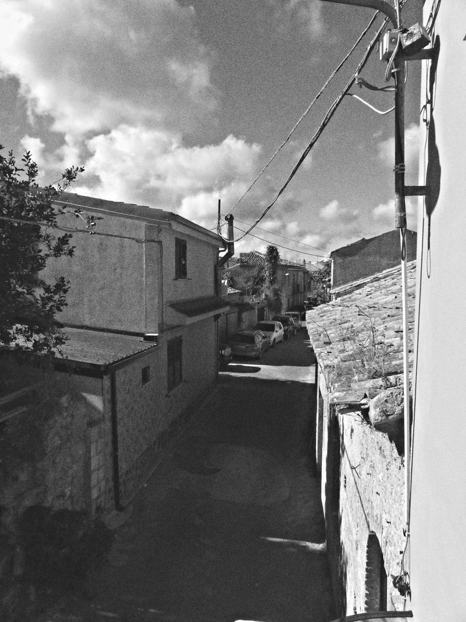street black white
