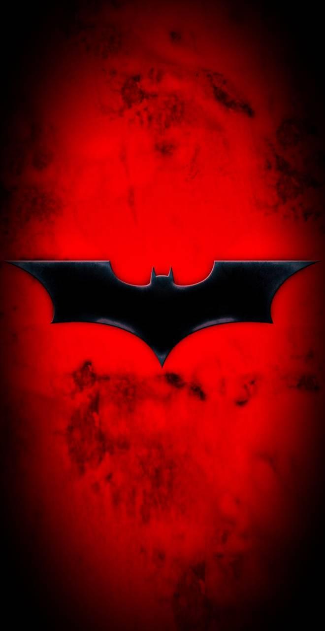 Batman red wallpaper