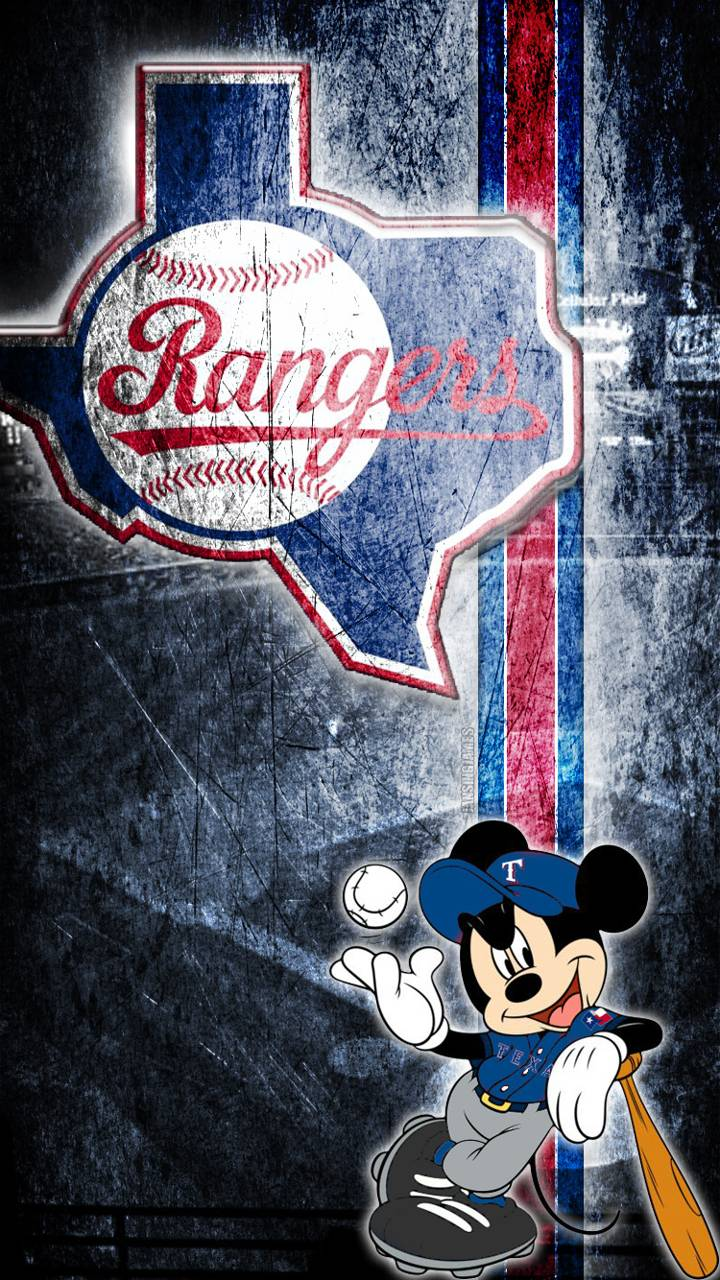 Texas Rangers iphone