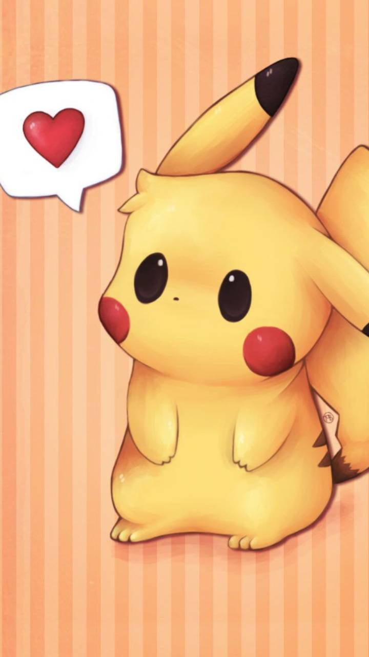 Cute pikachu wallpaper by Lovely_nature_27 - a5 - Free on ...