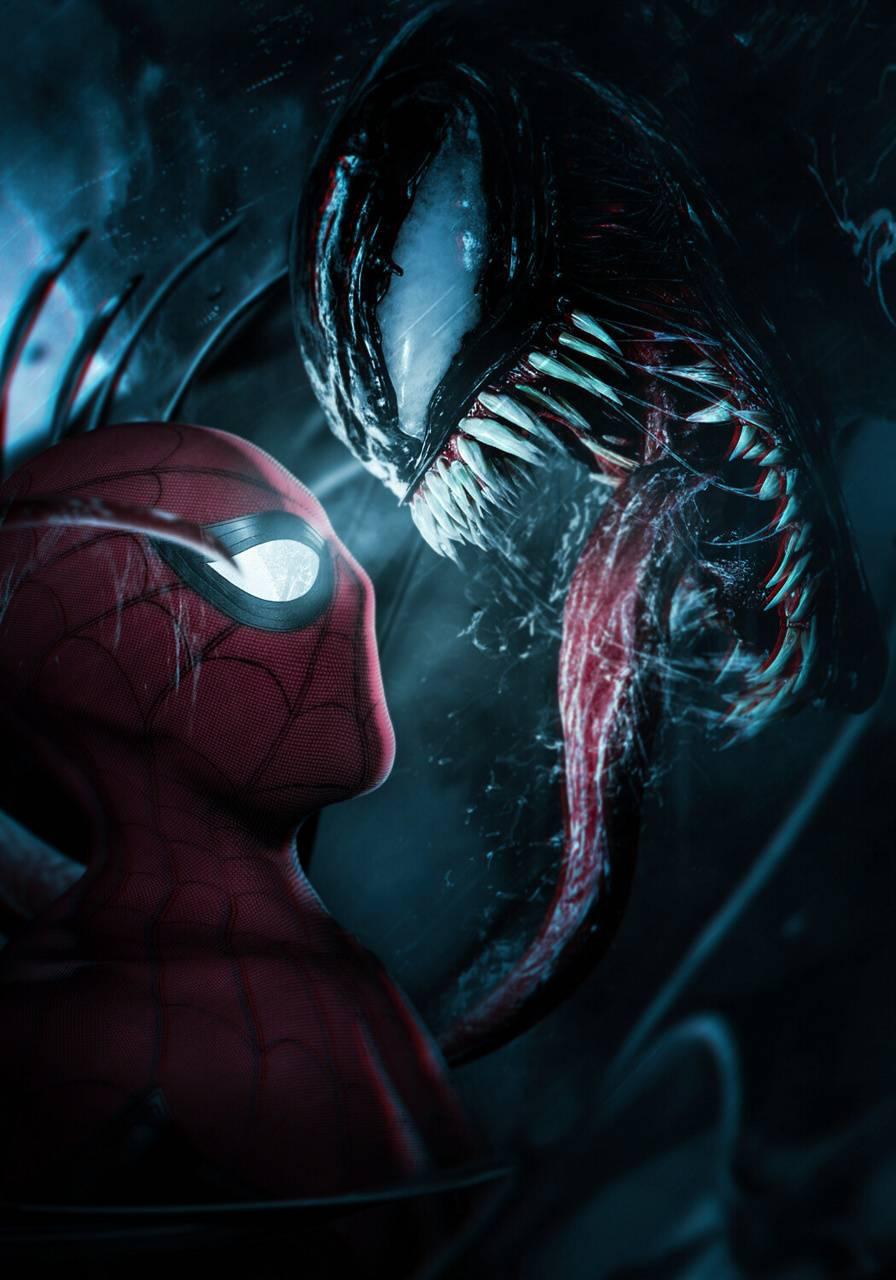 Venom and Spider