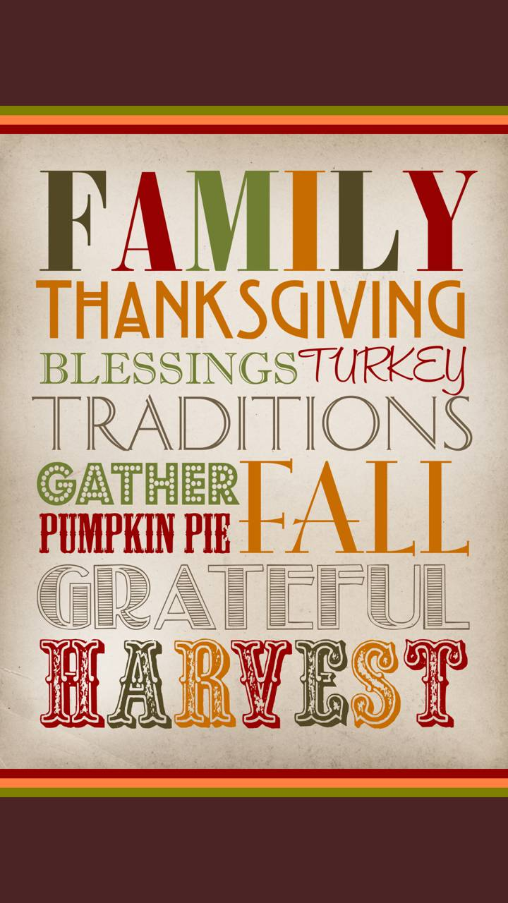 Thanksgiving Words