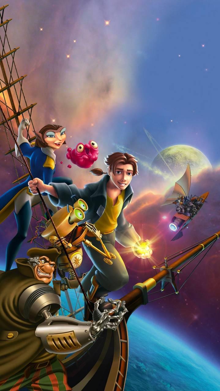 treasure planet full movie - 500×750