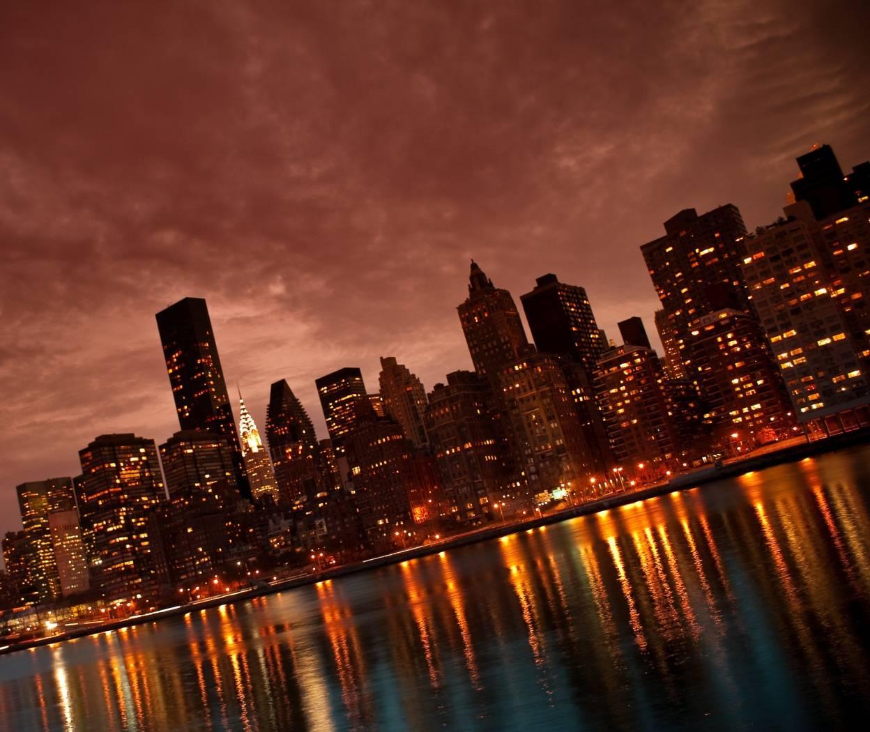 City At Night Hd