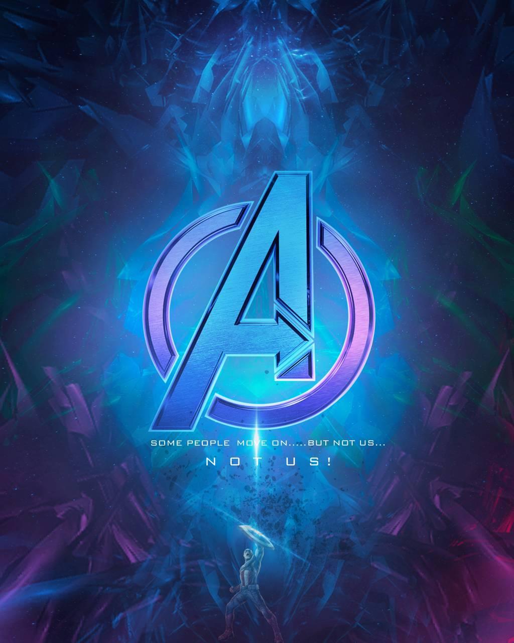 Avengers Logo Neon Wallpaper By Sairockstar