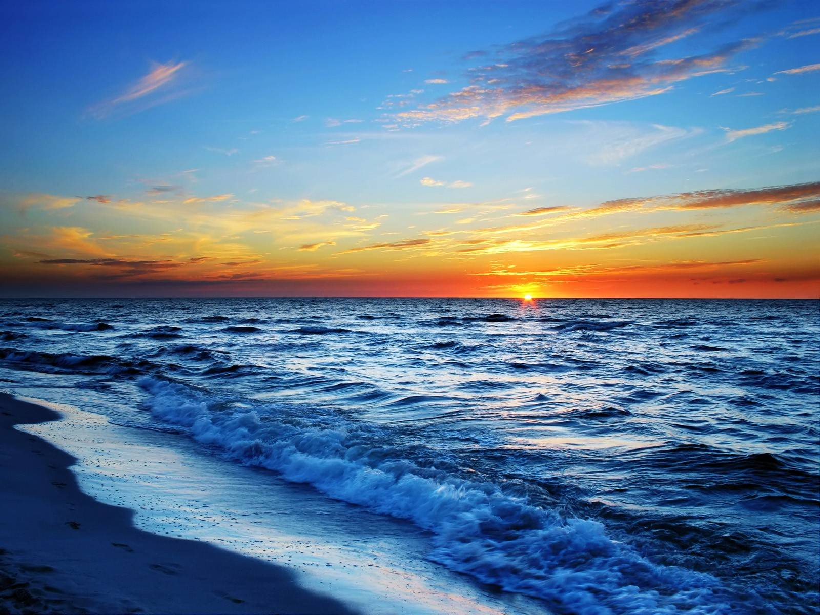 Sunrise-ocean