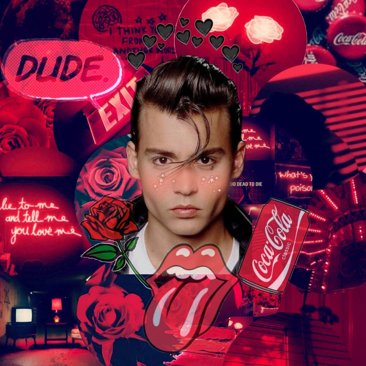 Johnny Depp red
