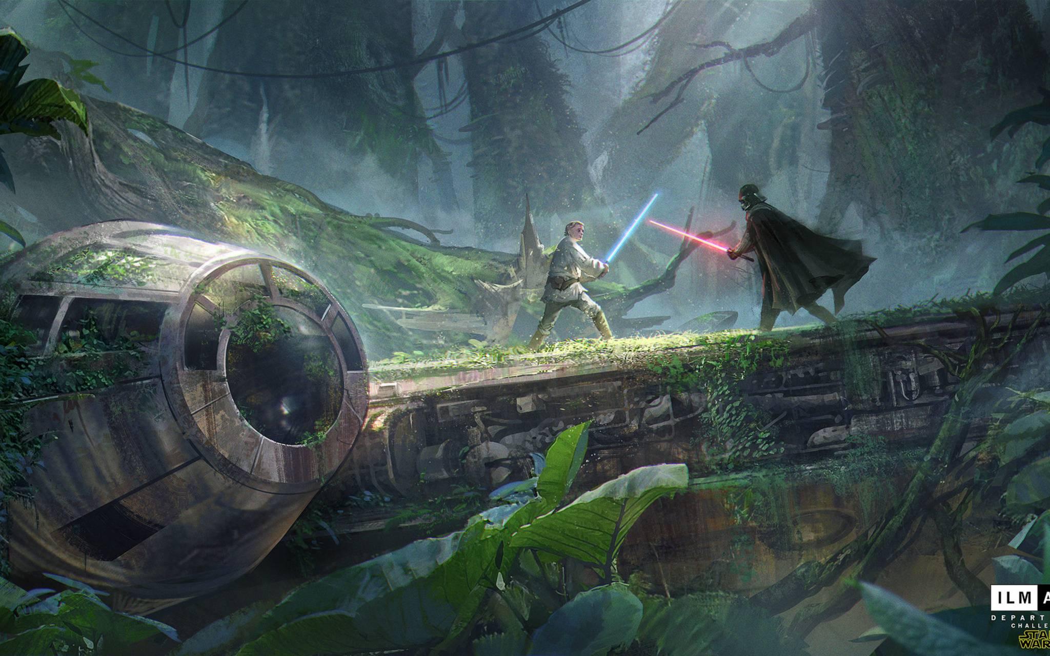 Luke Vs Darth Vader Wallpaper By Maniacboy777 C8 Free On Zedge