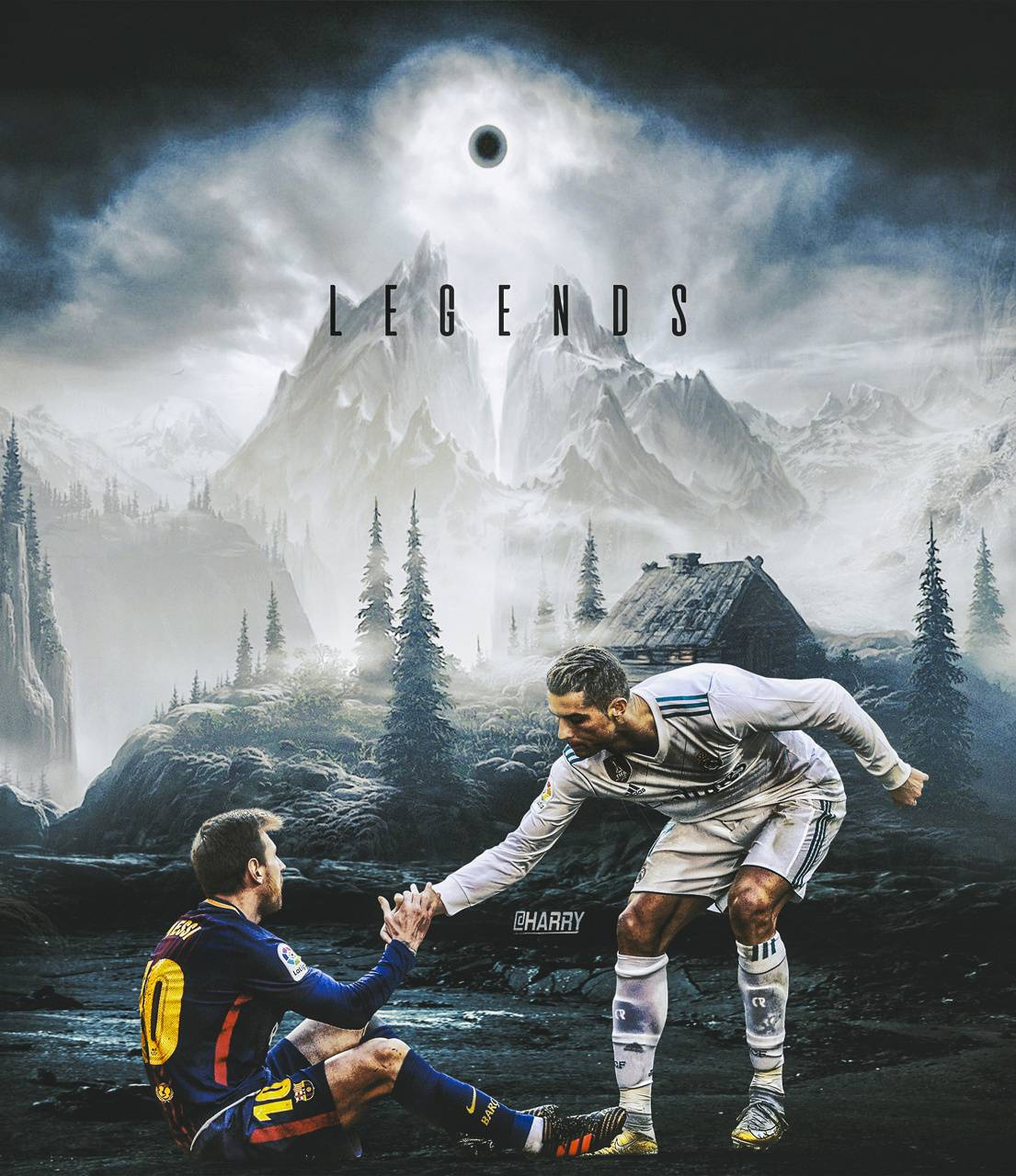 Ronaldo Messi Wallpaper By Harrycool15 0c Free On Zedge