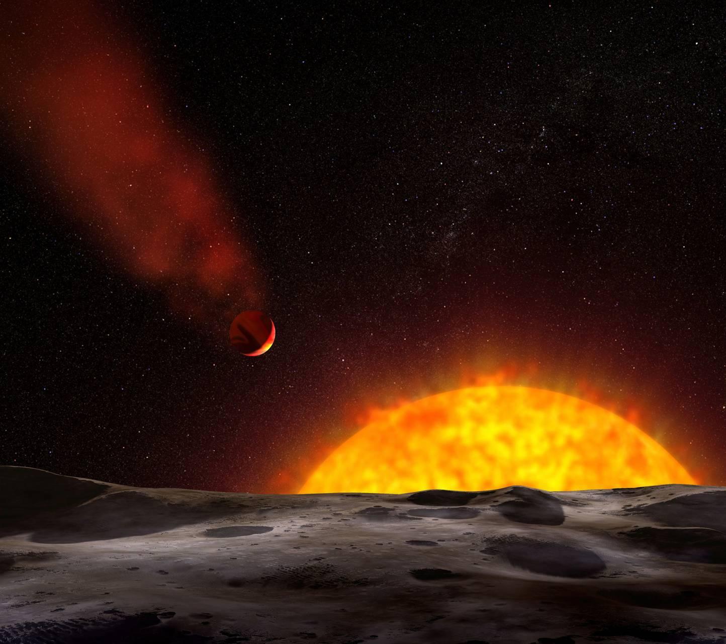 Super Hot Planet