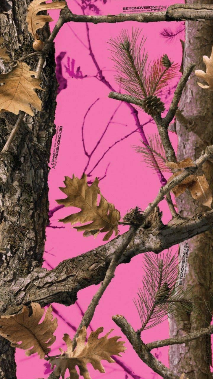 Pink Camo wallpaper by Sherrilynn80
