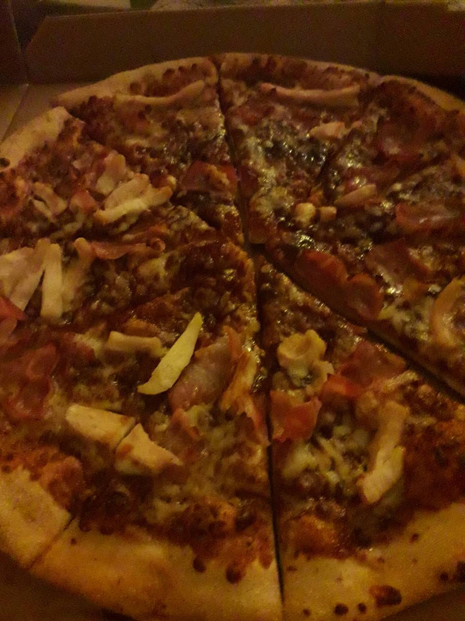 The Meatfeast Pizza