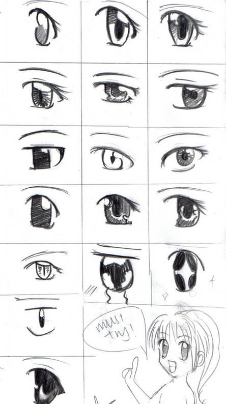 Shojo Eyes Draw