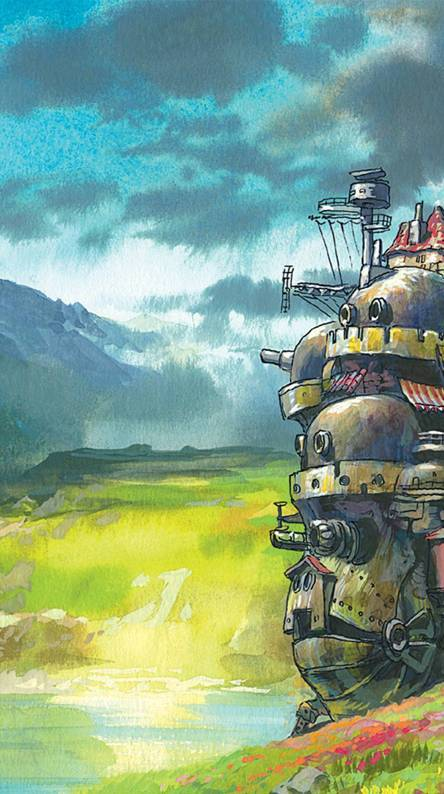 Howl Moving Castle Wallpapers
