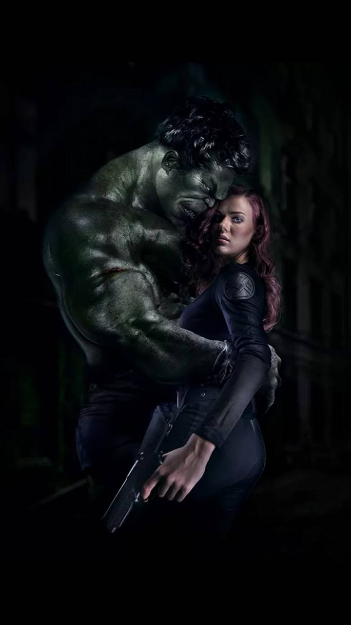 Hulk And Black Widow Wallpaper By Georgekev Ab Free On