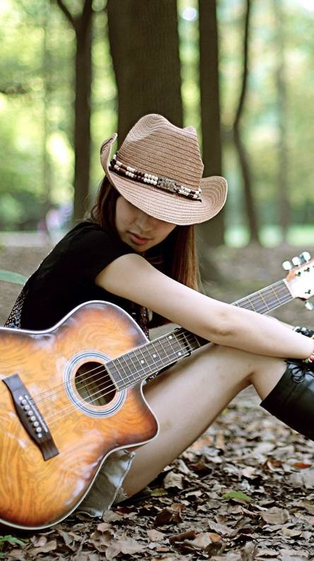 Guitar Girl Wallpapers Free By Zedge