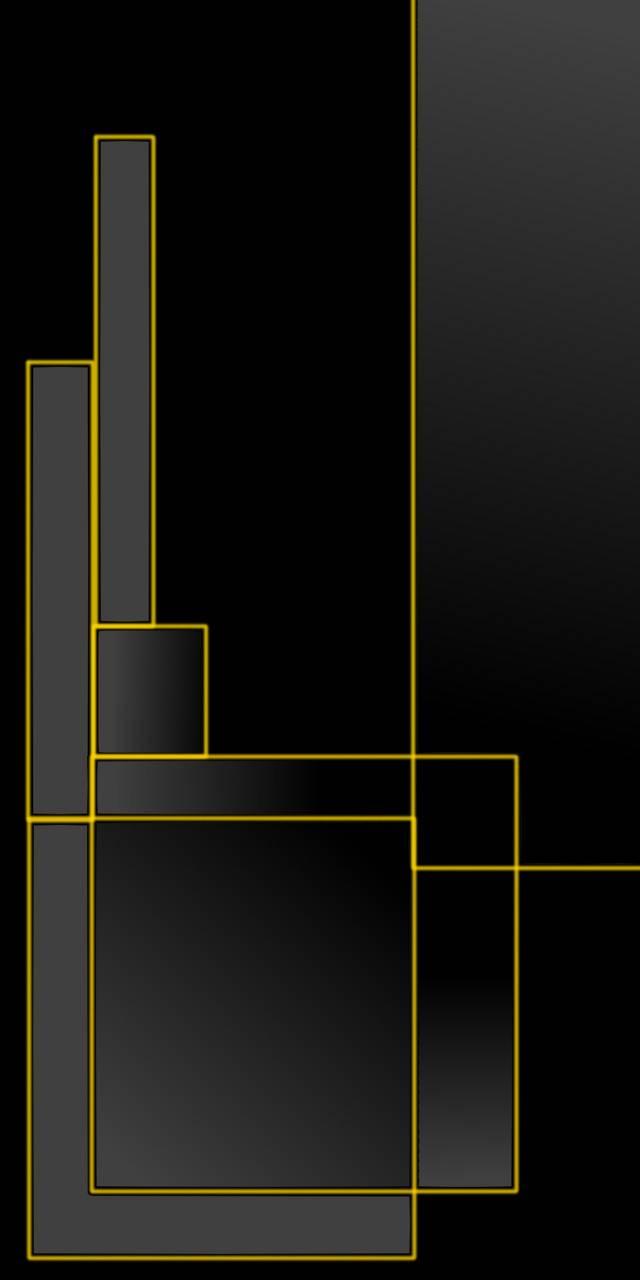 Yellow metal pattern