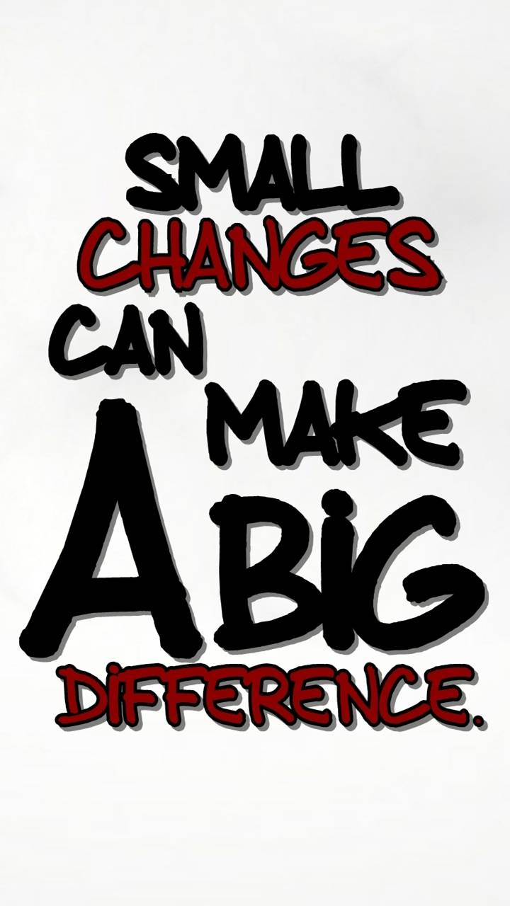 a big difference