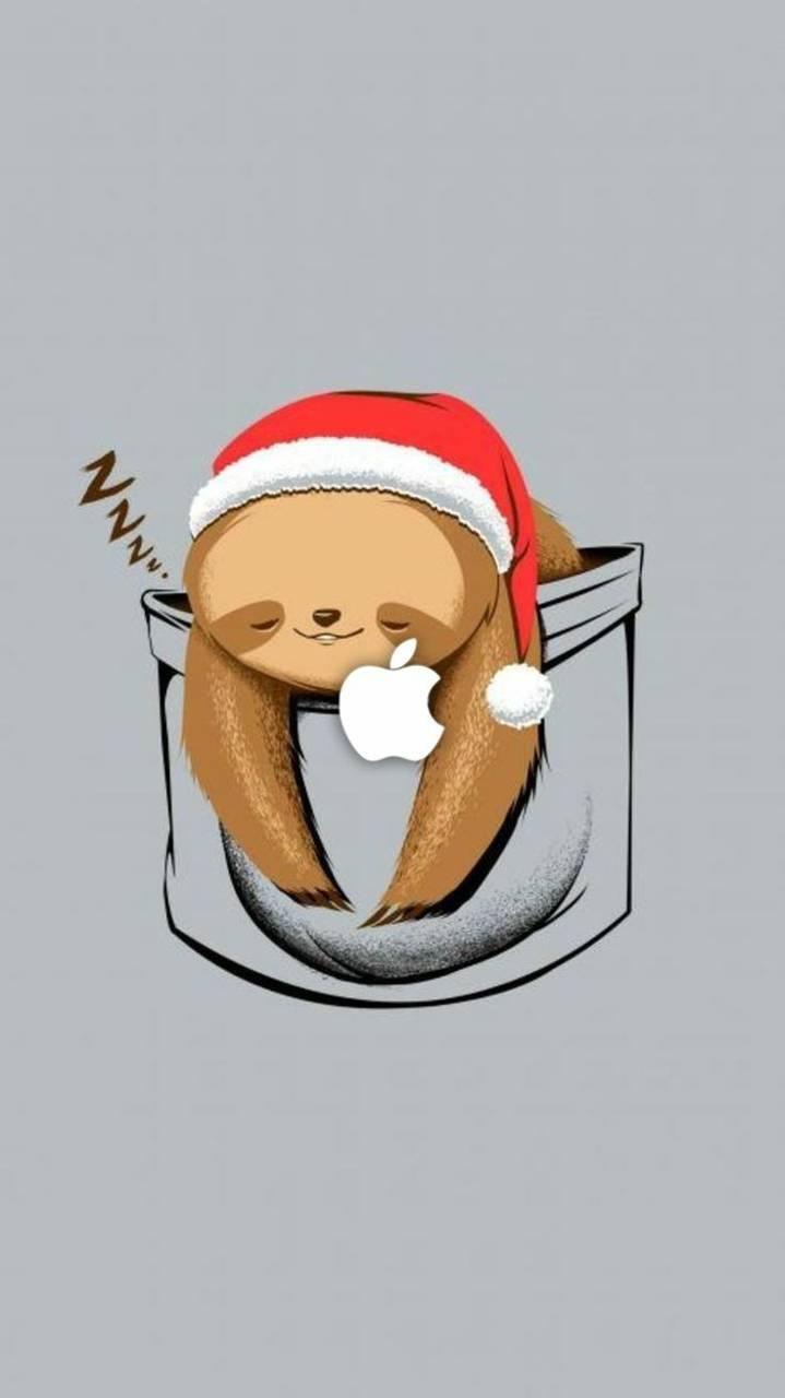 Santa sloth
