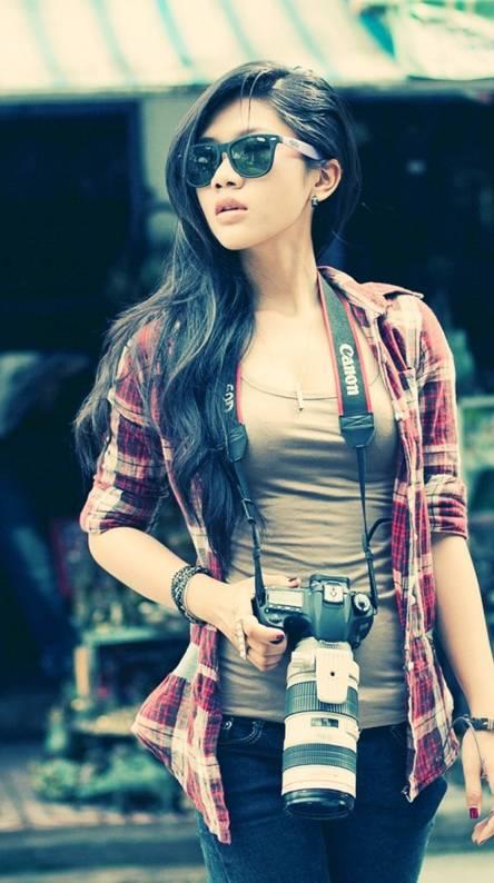 Girl Camera Style