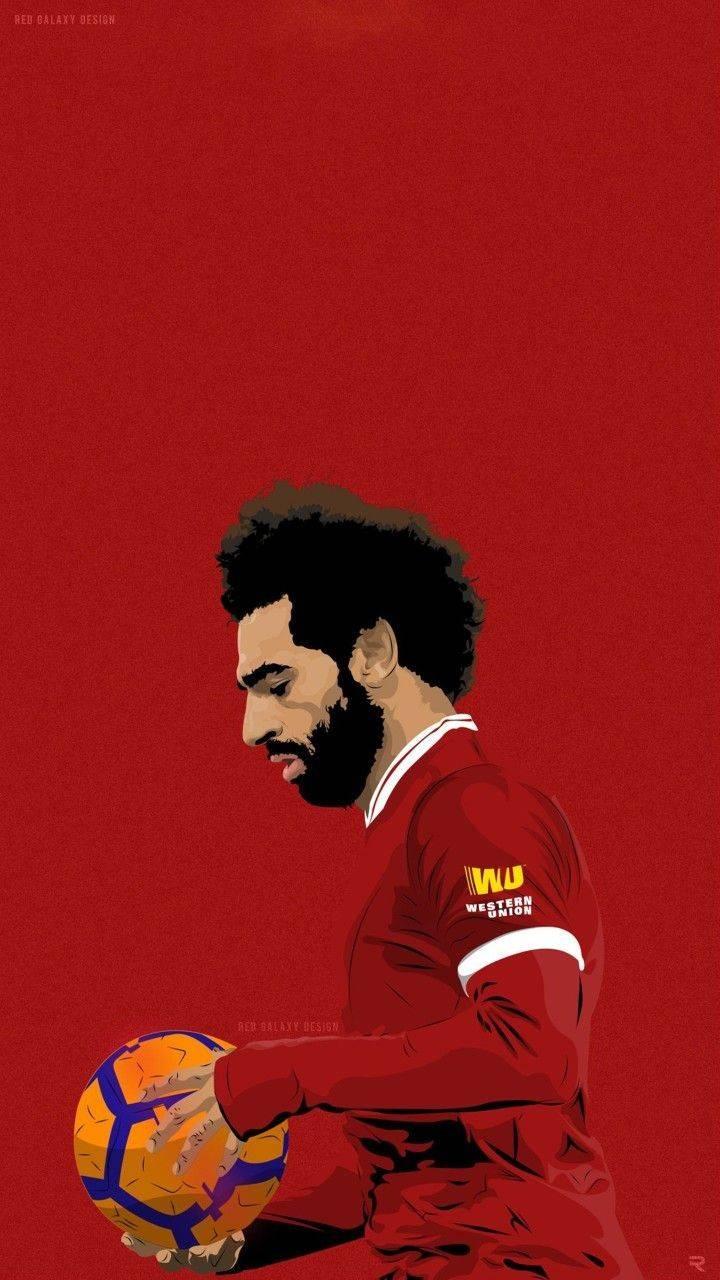 Salah red wallpaper