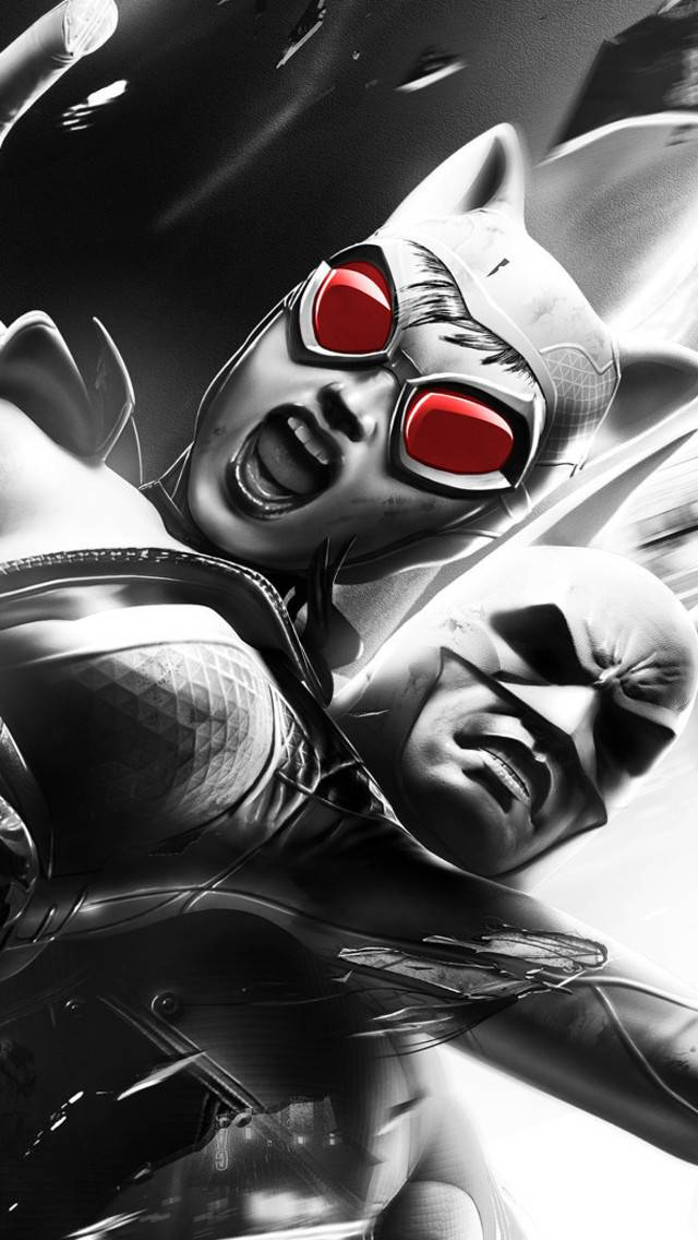 Catwonam and Batman