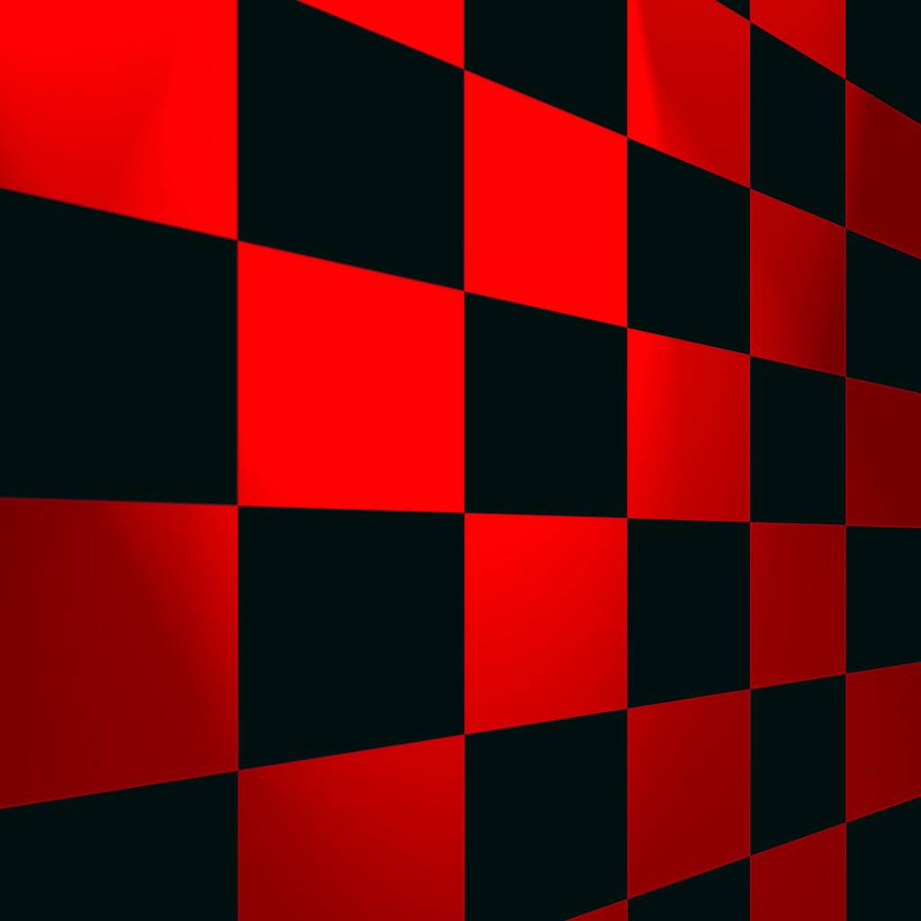 Red And Black Mosaic