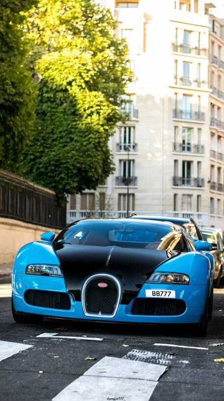 Red Bugatti Veyron Wallpapers