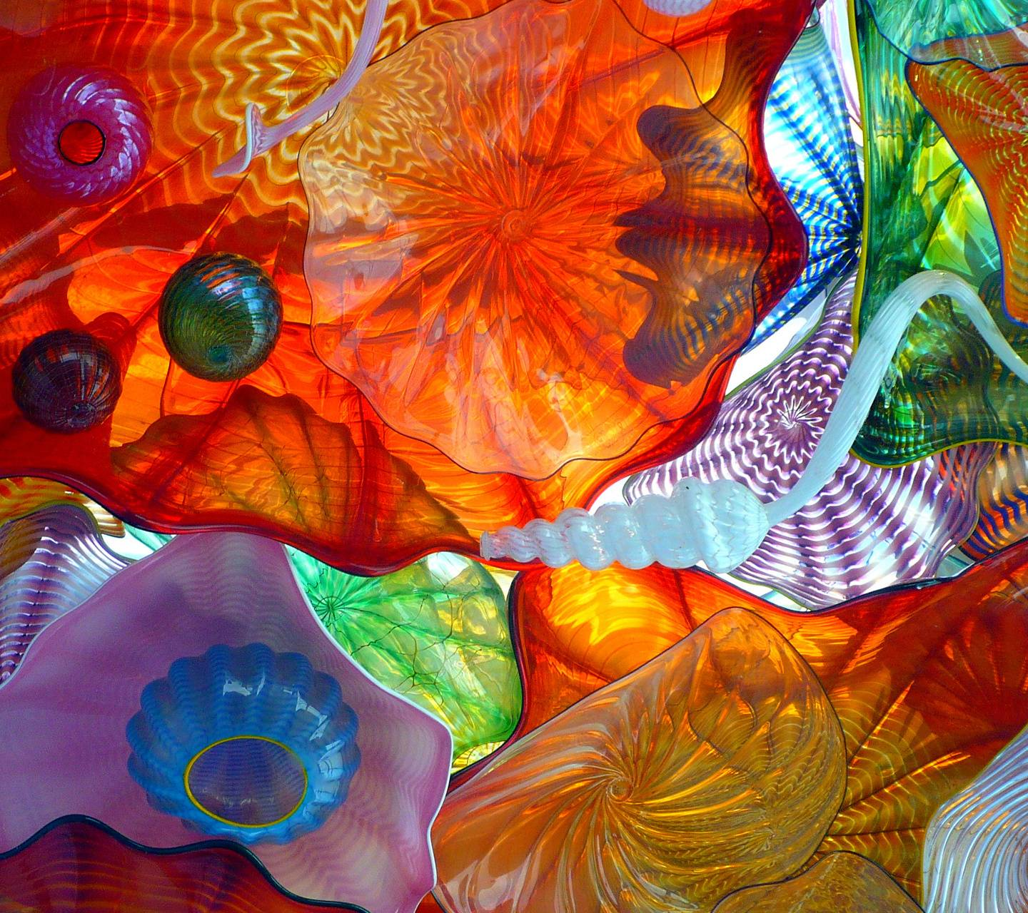 Colorful Chihuly