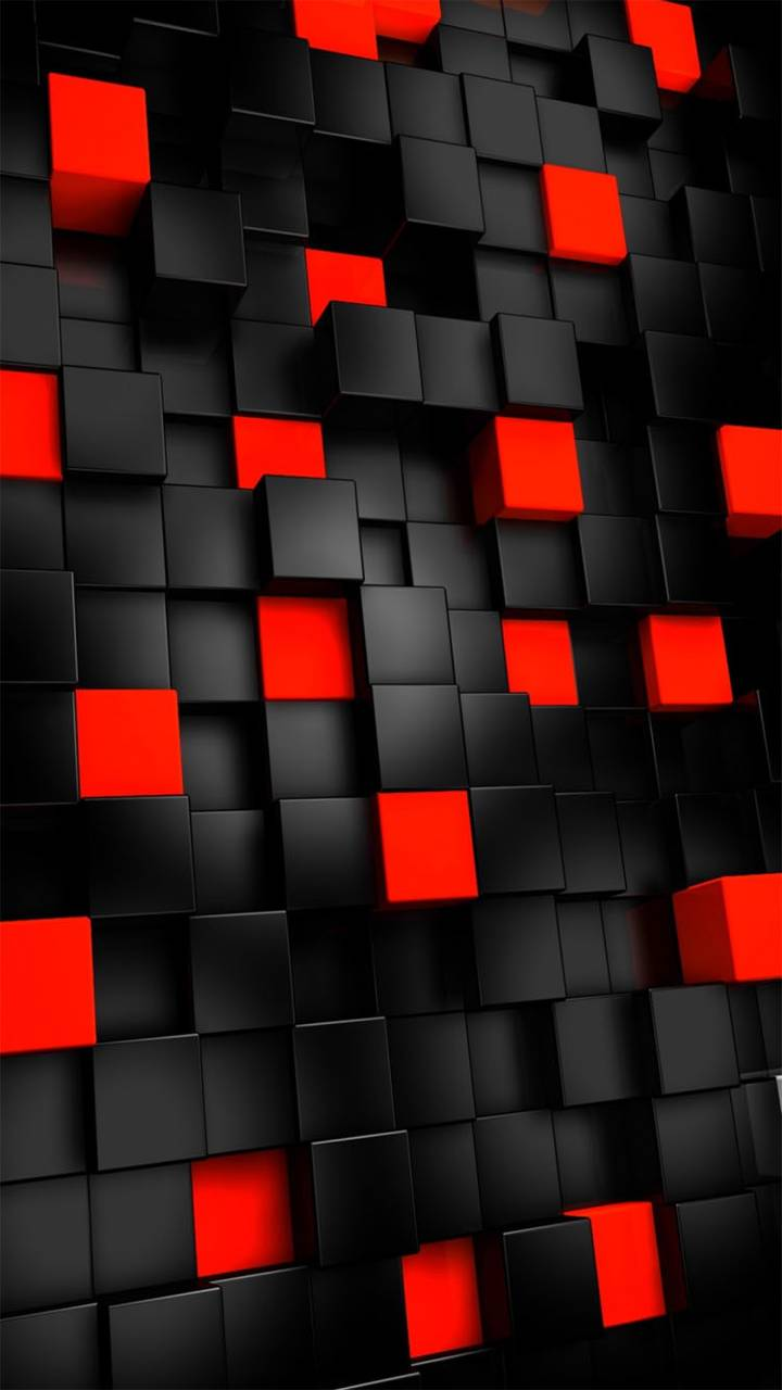 Red Black Squares Wallpaper By Ixtabixtab B3 Free On Zedge