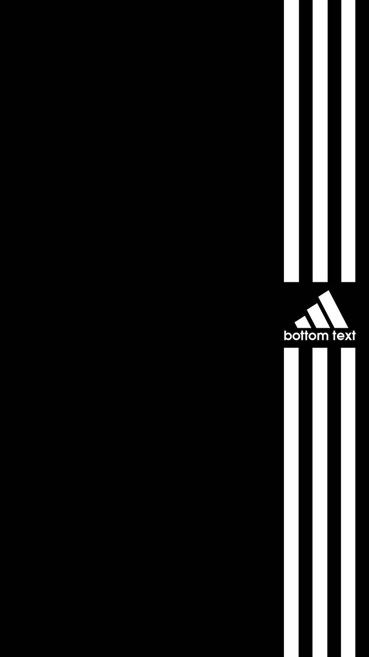 Adidas Bottom Text