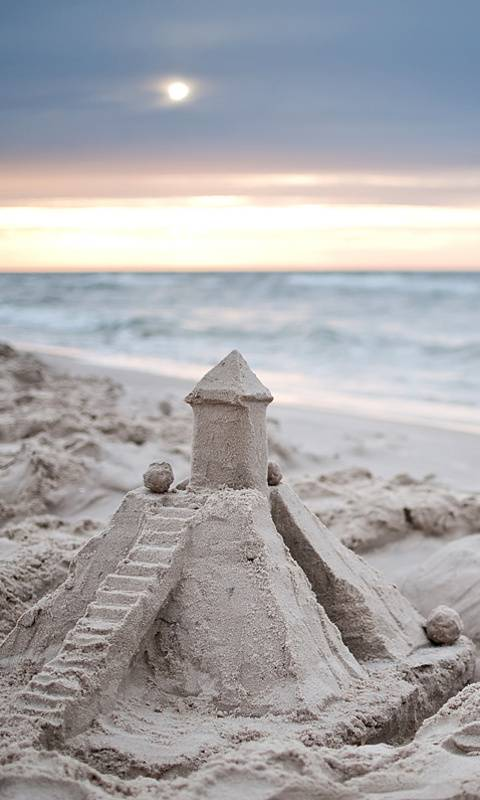 Castle In The Beach