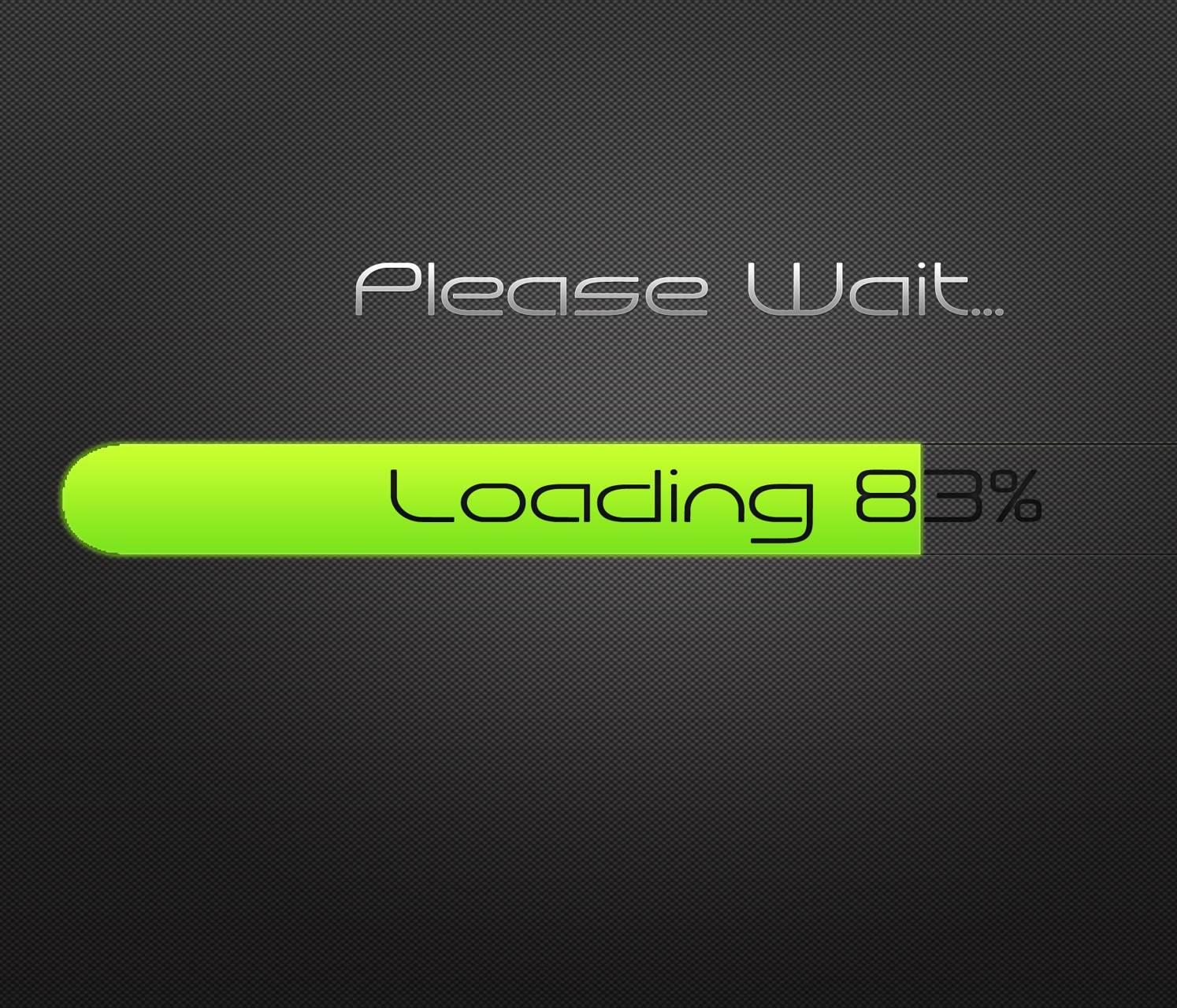 Please Wait Loading