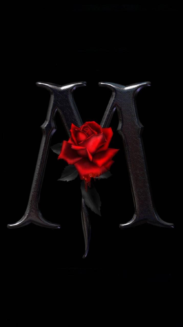 Letter M Rose