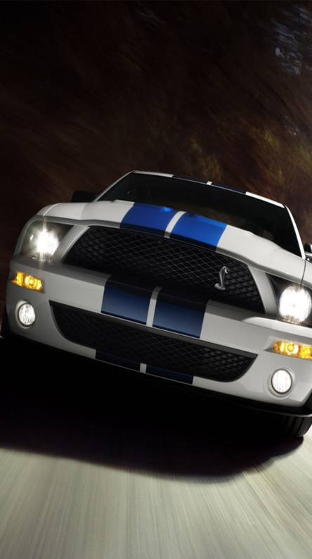 Black Ford Mustang Wallpaper