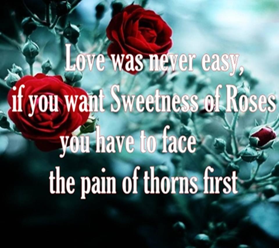 Love Was Nva Easy