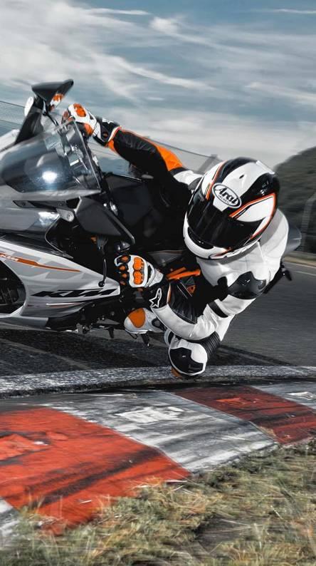 KTM biker