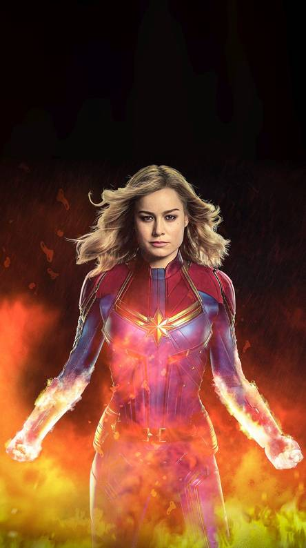 Captain Marvel Movie Ringtones And Wallpapers Free By Zedge