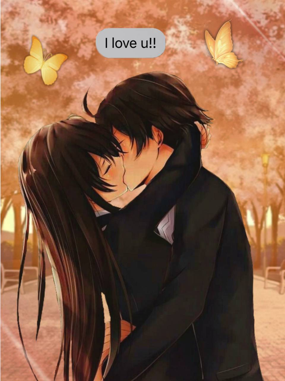 Anime Couple Wallpaper By Anuscachan 68 Free On Zedge