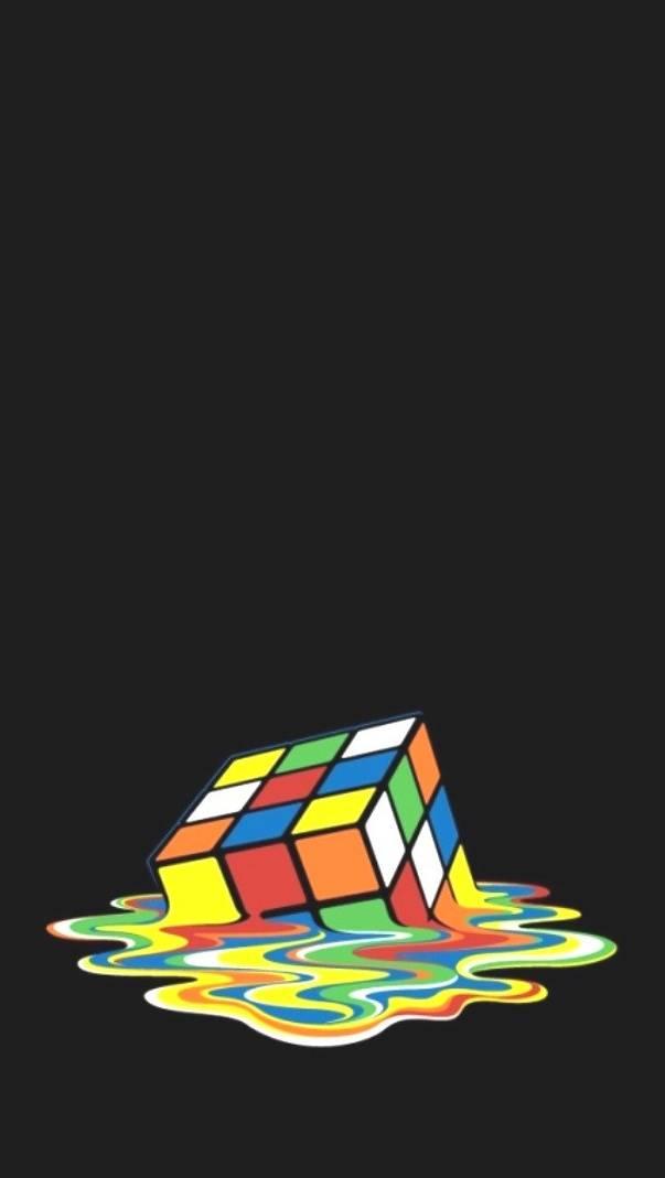 Melted Rubix