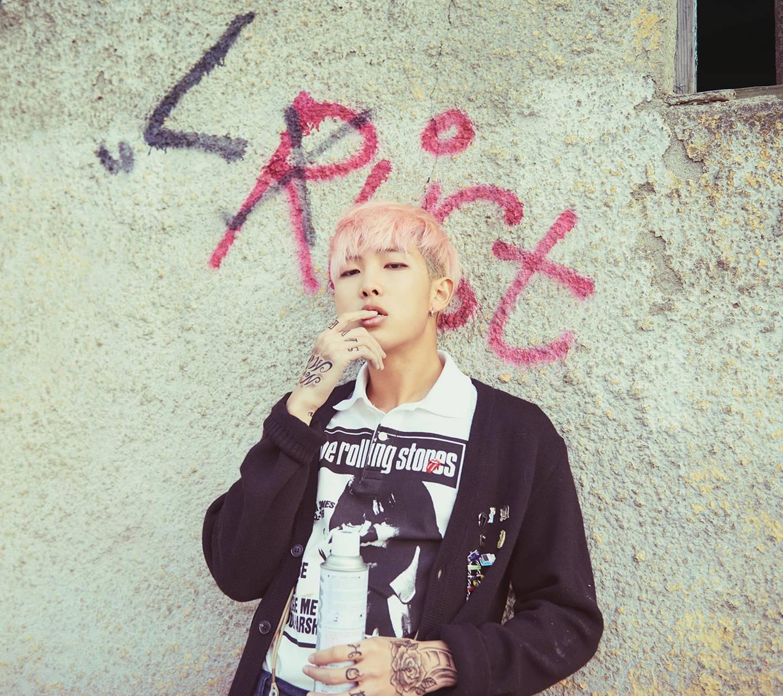 bts rap monster wallpaper by xxc_kr